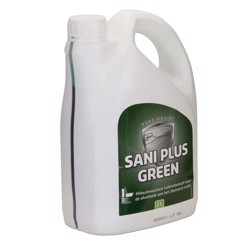 SANI PLUS Green til toilettanken, 2 ltr.