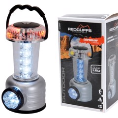 REDCLIFFS LED-lampe m/3 funktioner