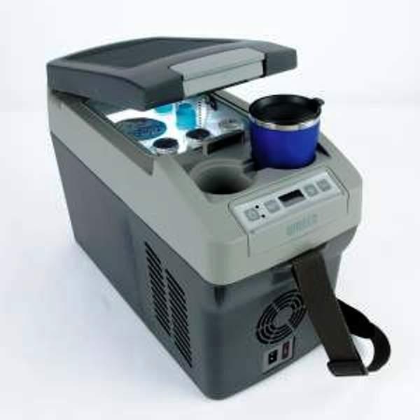 Moderne Køle/fryseboks Waeco Coolfreeze CDF11, 12/24/230 v UT99