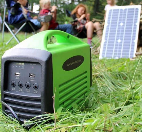 Image of   Camping kit 240 (25W / 240Wh batteri / 230V AC)