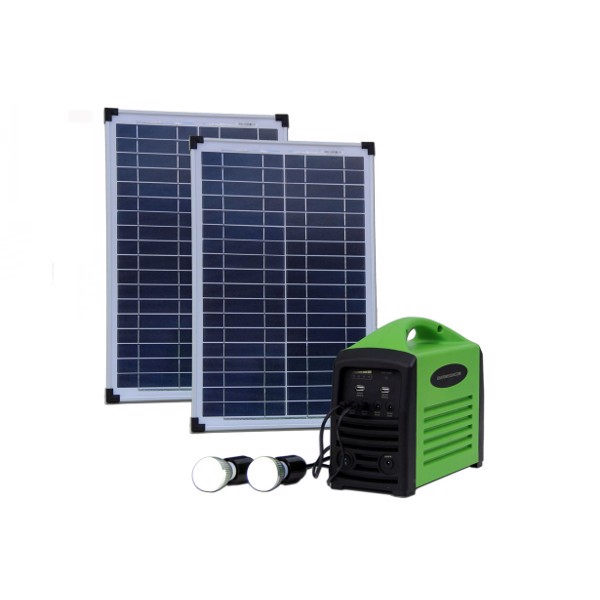 Image of   Camping kit 80 (2x25W / 80Wh batteri)