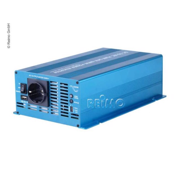 Image of   CARBEST Sinus Inverter 12/230V 1000W
