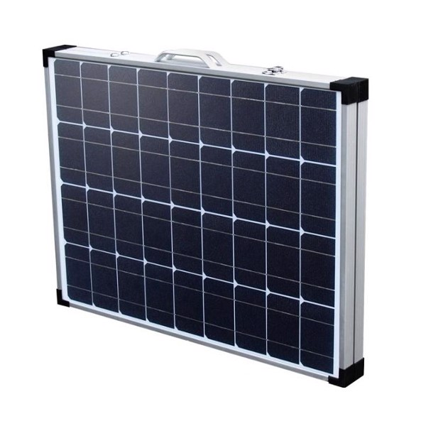 Image of   CARBEST Solcellekuffert 100 Watt med indbygget laderegulator