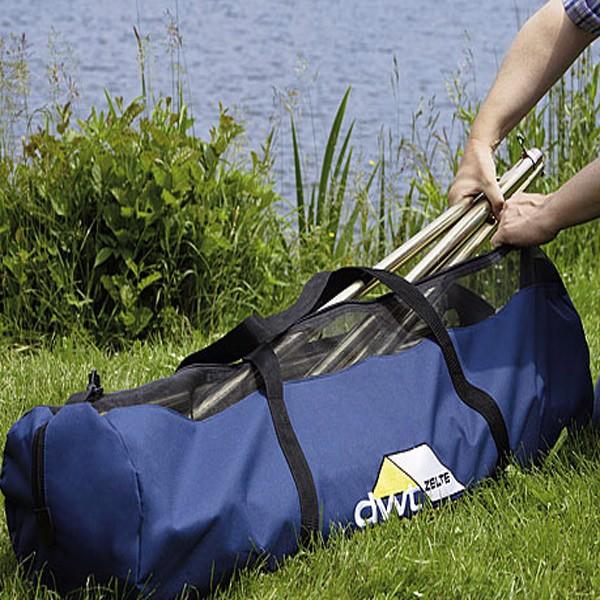 DWT Stangtaske - DWT Stangtaske Praktisk taske til teltstængerne. Mål: 120 x 30 Cm.