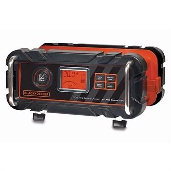 Image of   BLACK & DECKER BC20BD Batterilader / Starthjælp og generator check