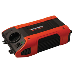 BLACK & DECKER Power Inverter BDCP 400 12V-230V - 400W med USB el. cigarstik